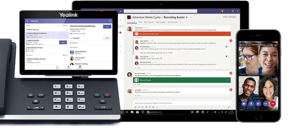 Koppel Microsoft Teams aan Yealink