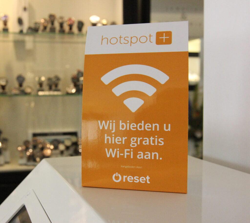 Reset - Gratis WiFi