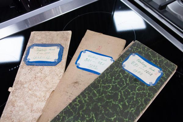 Originele verkoopboeken uit 1948