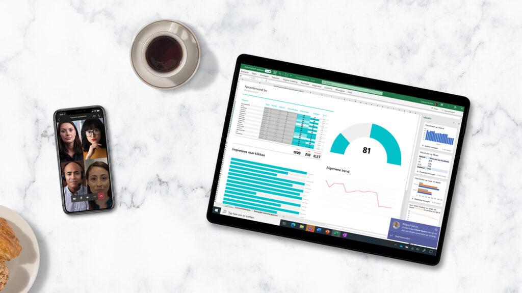 Altijd de nieuwste software voor kantoorwerkzaamheden met office 365.