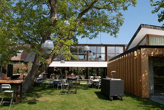 Tuin van het Art Centre Delft