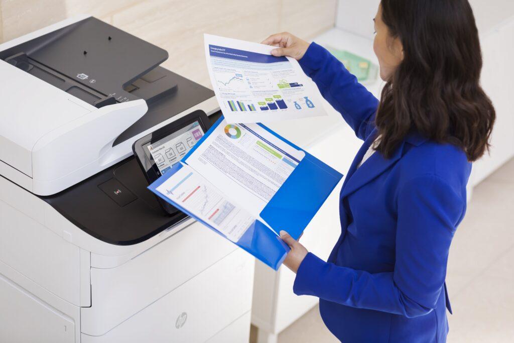 Printer leasen met HP