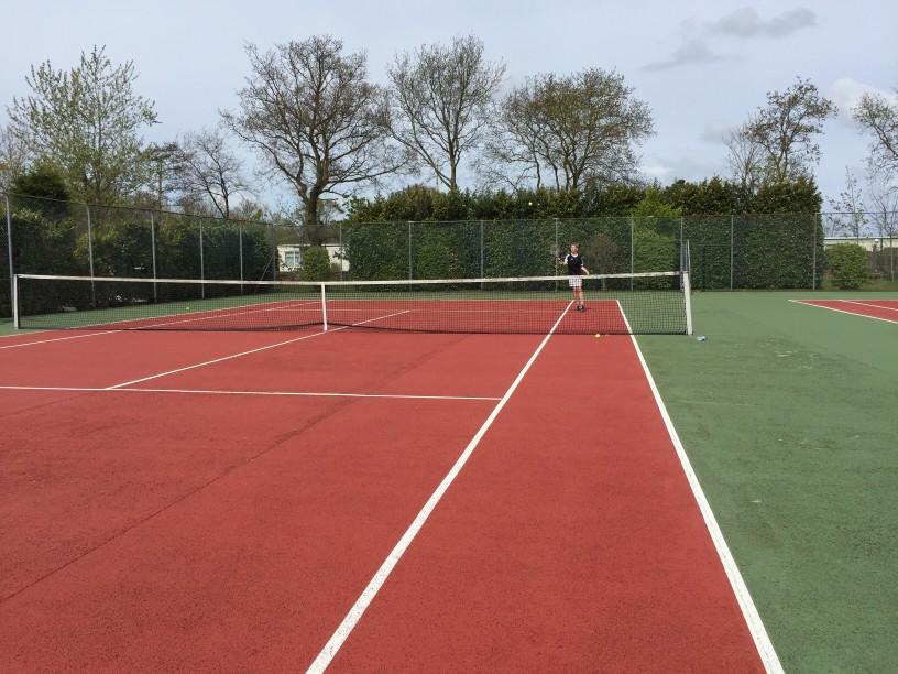 Tennis velt de Rhijenhof