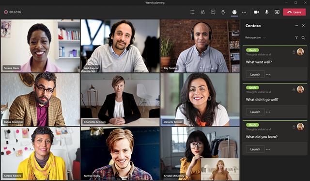 apps in teams vergaderingen