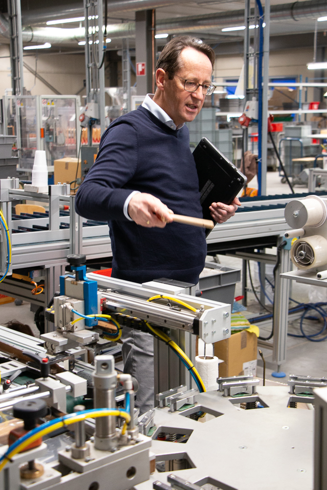 Piet van Erp - Van Dams kwastenfabriek - Culemborg