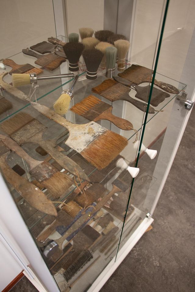 antieke kwasten van Van Dams kwastenfabriek - Culemborg