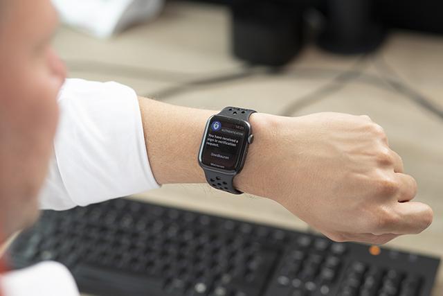 2FA op een smartwatch