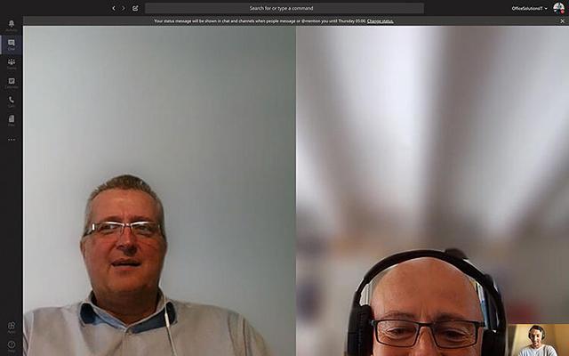 microsoft teams tips - zorg voor een goede camerahoek
